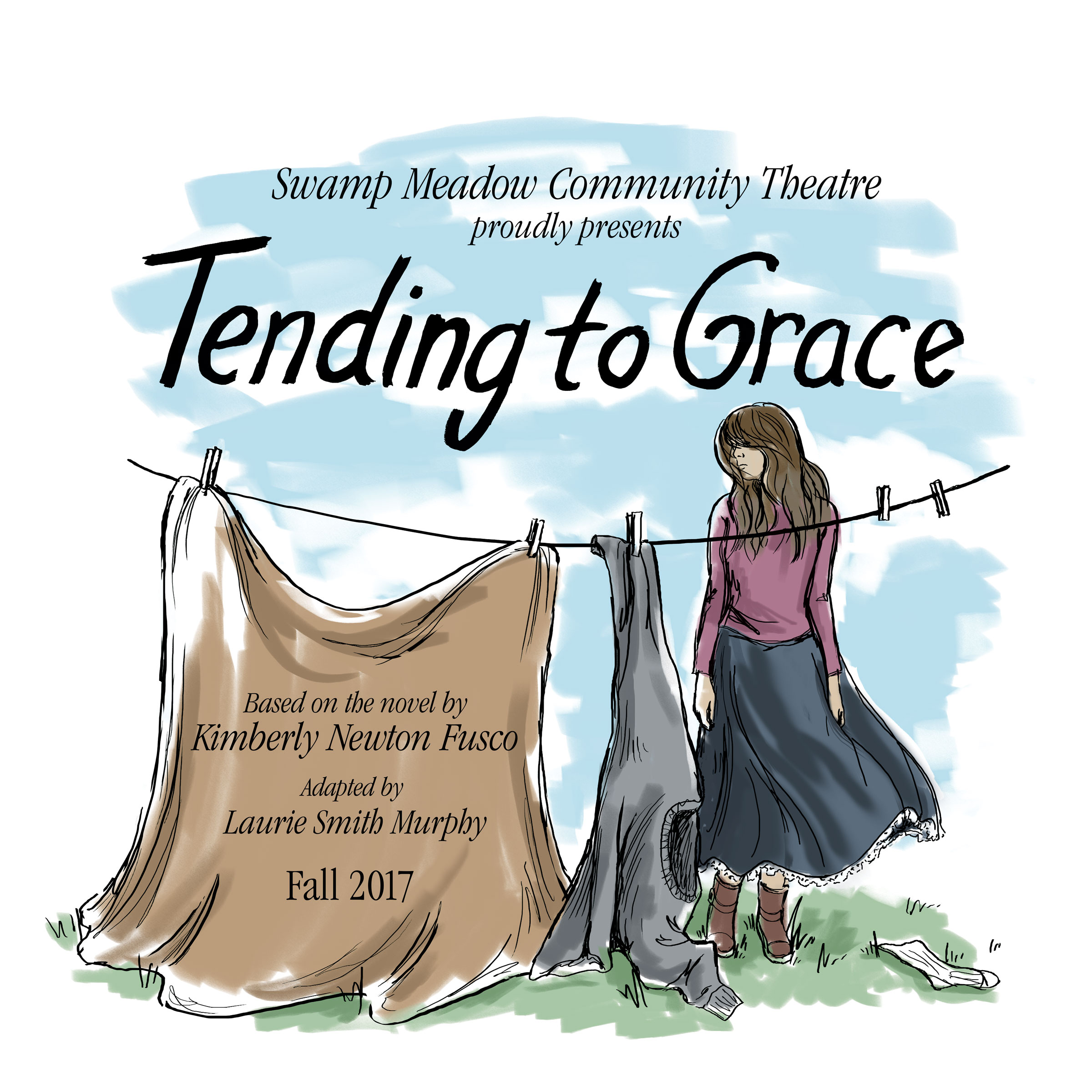 tending to grace Tending to grace is written from the point of view of a high school sophomore whose mother leaves for vegas with the boyfriend, dropping daughter off with an elderly eccentric aunt in the countryside.